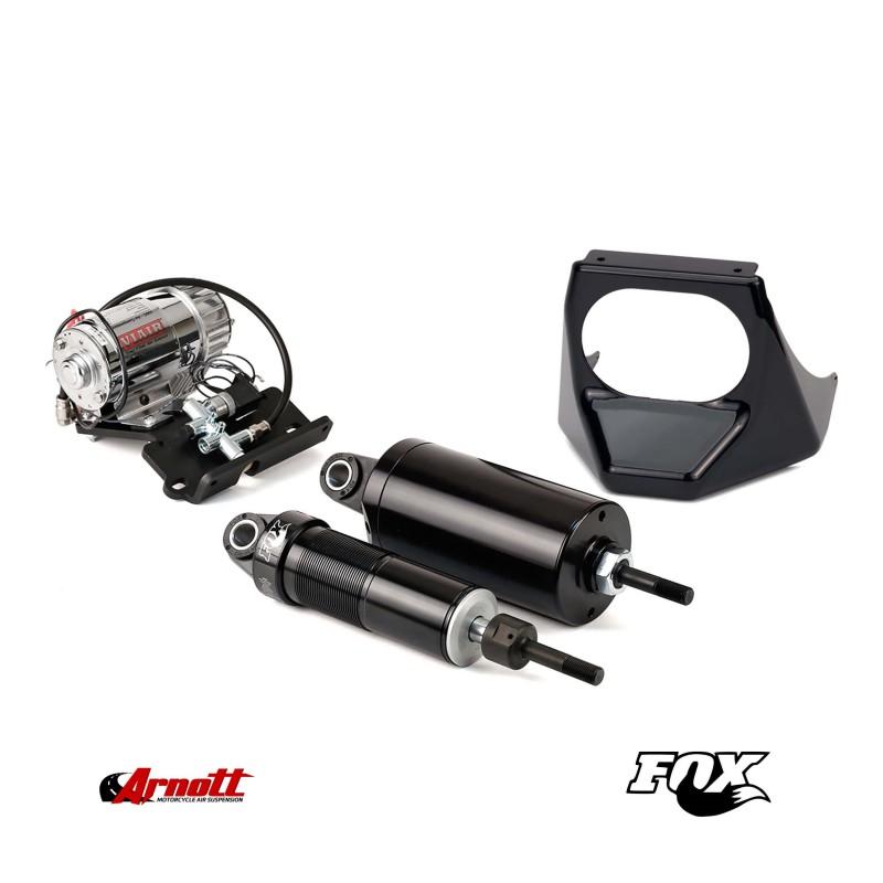 Luftfjädringssystem Arnott MC-2908 (BLACK) Harley Davidson Softail
