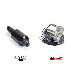 Luftfjädringssystem Arnott MC-3585 (BLACK) HD Softail - Luftfjädring24