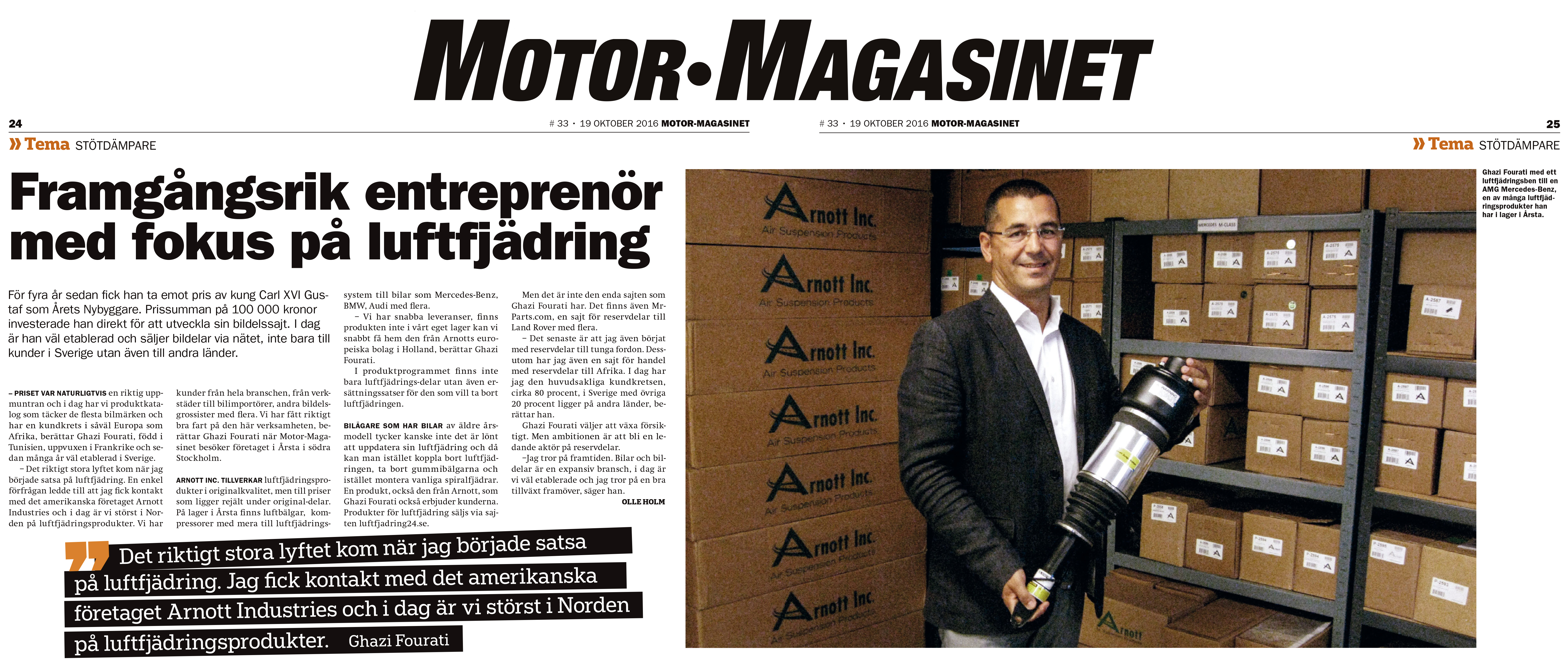 ghazi fourati motormagazinet